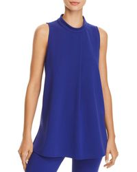 Theory - Talniza Crepe Top - Lyst