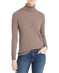 C By Bloomingdale's Cashmere Turtleneck Sweater - Multicolor