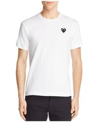 Play Comme des Garçons - Comme Des Garçons Play Heart Logo Graphic Tee - Lyst