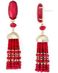 Kendra Scott - Dove Tassel Drop Earrings - Lyst