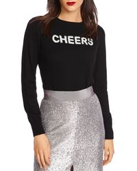 1.STATE - Cheers Crewneck Sweater - Lyst