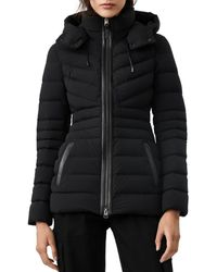 Mackage Patsy Lightweight Down Jacket With Removable Hood In Black - Women