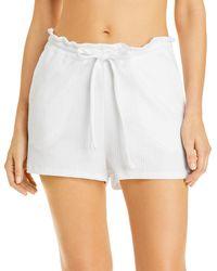 Vitamin A Thalia Swim Cover - Up Shorts - White