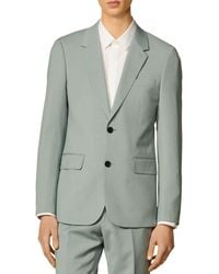 Sandro - Formal Storm Wool Suit Jacket - Lyst