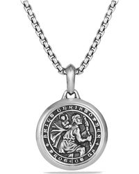 David Yurman - Petrvs St. Christopher Amulet - Lyst