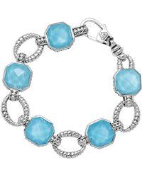 Lagos - Turquoise Doublet Bracelet - Lyst