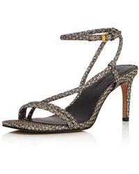 Rebecca Minkoff Women's Nanine Dancing Shoe High - Heel Sandals - Black