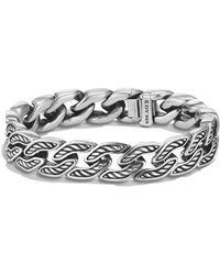 David Yurman - Maritime Curb Link Bracelet - Lyst