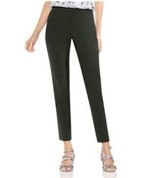 Vince Camuto - Doubleweave Skinny Ankle Trousers - Lyst