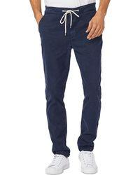 PAIGE Fraser Slim Fit Pants - Blue