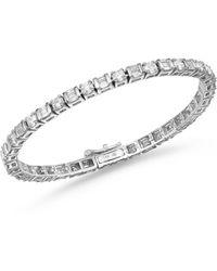 Bloomingdale's Diamond Tennis Bracelet In 14k White Gold