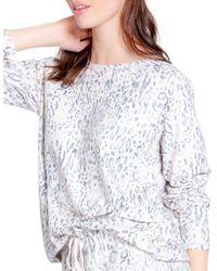 Pj Salvage Printed Pyjama Top - Multicolour