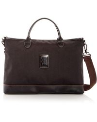 Longchamp Boxford Nylon Briefcase - Black