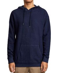 RVCA Camino Hooded Sweatshirt - Blue