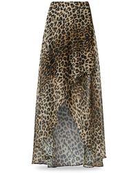 AllSaints - Slvina Leppo Leopard Print Skirt - Lyst
