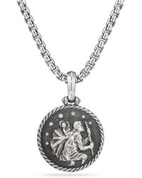 David Yurman | St. Christopher Amulet | Lyst