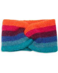 Jocelyn Striped Knit Headband - Multicolour