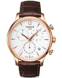 Tissot - S Carson Swiss Quartz Stainless Steel Dress Watch - Lyst