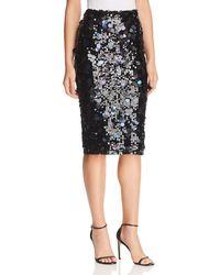 Parker - Glenda Sequined Skirt - Lyst