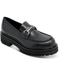 Charles David Alphie Slip On Loafer Flats - Black