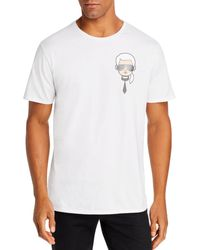 Karl Lagerfeld Mini Karl Head Graphic Tee - White