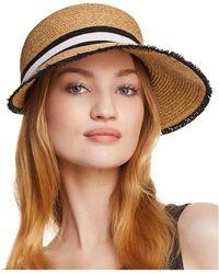 August Hat Company - Frayed Framer Hat - Lyst