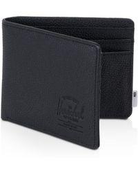 Herschel Supply Co. X Tile Leather Roy Wallet - Black