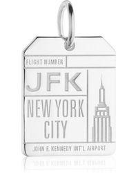 Jet Set Candy - Jfk New York Luggage Tag Charm - Lyst