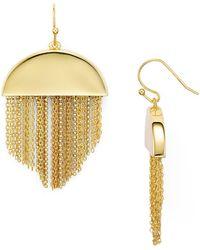 Trina Turk - Fringe Drop Earrings - Lyst