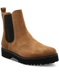 Andre Assous Women's Penny Pull On Suede Booties - Brown