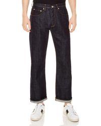 Sandro - Regular Slim Fit Jeans In Raw-denim - Lyst