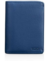 Tumi - Nassau Leather Gusseted Card Case - Lyst