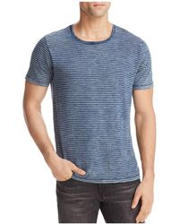AG Jeans - Julian Striped Crewneck Tee - Lyst