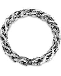 John Hardy Sterling Silver Classic Chain Link Bracelet - Metallic