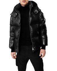 Mackage Kent Hooded Puffer Jacket - Black