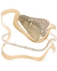 Alexis Bittar - Crystal Embellished Cuff Bracelet - Lyst