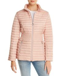 Laundry by Shelli Segal Packable Puffer Coat - Pink