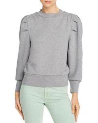 FRAME Puff - Sleeve Sweatshirt - Gray