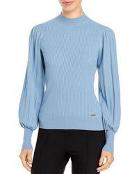 T Tahari - Blouson Sleeve Sweater - Lyst
