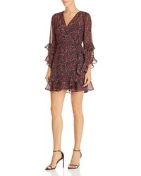 The Fifth Label - Elective Ruffled Floral Wrap Dress - Lyst