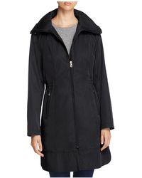 Cole Haan - Packable Rain Coat - Lyst