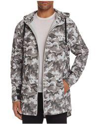Zanerobe Shade Camouflage Anorak Jacket - Gray
