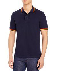 Sundek Brice Regular Fit Polo Shirt - Blue