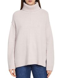 Reiss - Cleo Wool & Cashmere Sweater - Lyst