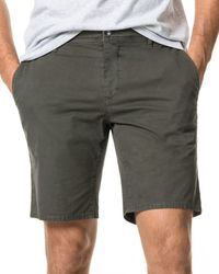 Rodd & Gunn The Peaks Cotton - Blend Over - Dyed Classic Fit Shorts - Green