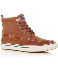 Sperry Top-Sider Bahama Storm High Top Sneakers - Brown