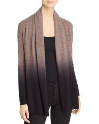 C By Bloomingdale's - Dip - Dye Cashmere Cardigan - Lyst
