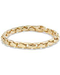 Elizabeth Locke Tutti Frutti Stone-Studded 19k Gold Bangle 3ufE86b