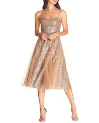 Dress the Population Ensley Sequined Dress - Multicolour