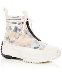 Converse - Run Star Hike High Top Platform Sneakers - Lyst